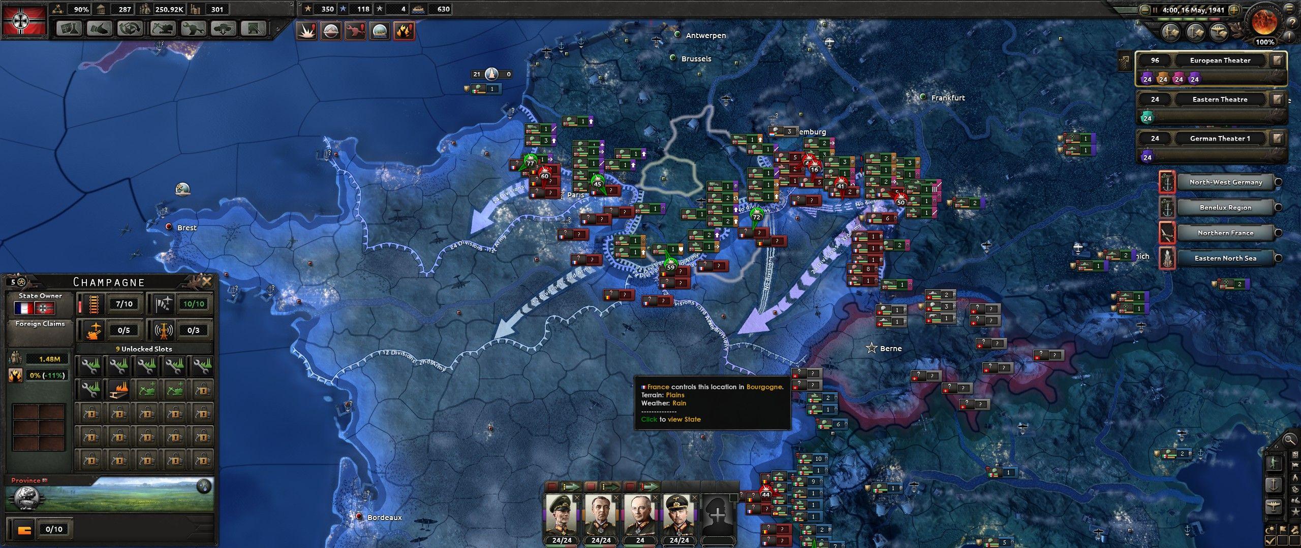 Hearts-of-Iron-4-04-Invading-France